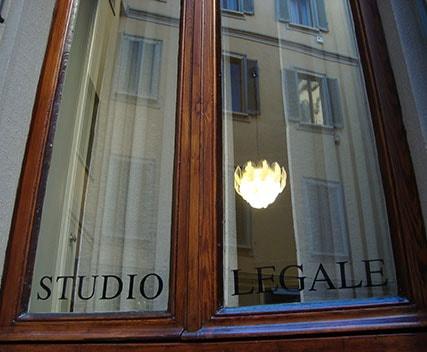 Immagine finestra dello Studio legale